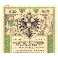 Alfred Cossmann designed Art Nouveau Bond