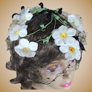 Darling 1950's Whimsy with Flowers