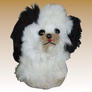 Darling Vintage Fur Dog for Doll