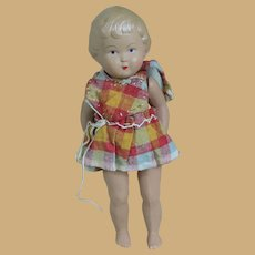 "Sweet 6"" Celluloid Girl in Sundress"