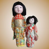 Vintage All Original Oriental Sisters