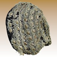 Lovely Antique Hat for Larger Fashion or Bebe