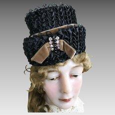 Fancy Vintage Straw Hat