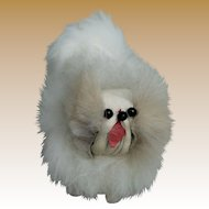 Adorable Vintage Miniature Pekinese for Doll