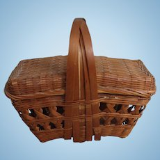 Wicker Picnic Basket for Fashions