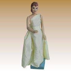 "Vintage 12"" Composition Mannequin for Simplicity Patterns"