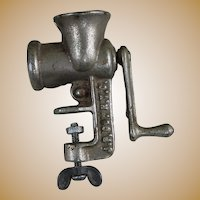 Miniature Salesman Sample Meat Grinder