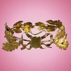 French Ormolu Metal Crown