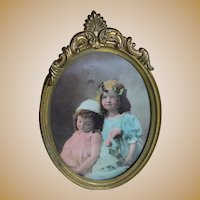 Charming Vintage Framed Picture