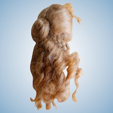Stunning Vintage Mohair Wig for Fashion Dolls