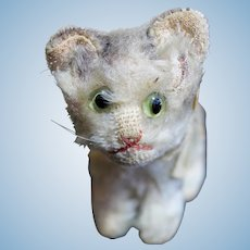 Darling Vintage Tiny Steiff Tabby Cat