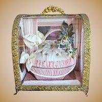 Beautiful Antique French Wedding Casket