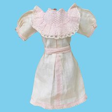 Antique French Factory Doll Dress for Bebe