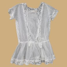 Antique Lace Child's Dress for Doll Costuming