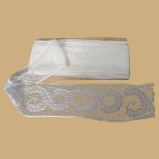 6 Yards of Vintage Lace with Fancy Design