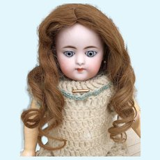 """Antique Human Hair French Doll Wig, 10"""""""