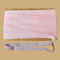 Beautiful Pink Vintage Rayon Ribbon, 32 Yards