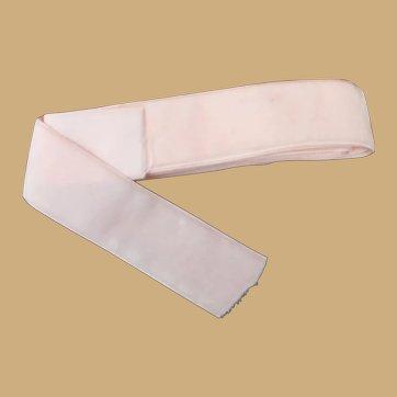Vintage Pale Pink Swiss Rayon Velvet Ribbon, 2 yards