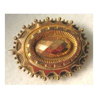 Victorian Gold Filled Brooch