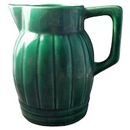 French Orchies Pottery Pitcher Vintage