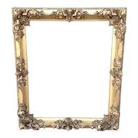 19th Century Carved Gilt Frame