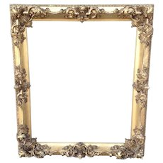 19th Century Carved Gilt Frame