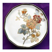 Large Noritake Cake Plate on Pedestal