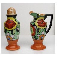 Art Deco Porcelain Muffineer Set