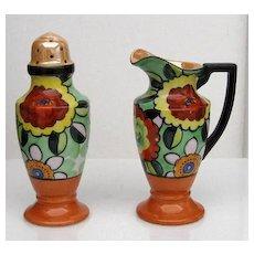 Art Deco Porcelain Muffineer Set