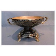 Noritake Lustreware Decorative  Bowl with Matching Stand