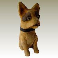 Antique Squeak Toy French Bulldog/Boston Terrier