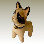 Antique Squeak Toy French Bulldog/Boston Terrier