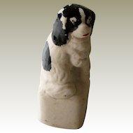 Small Staffordshire Spaniel Dog Antique