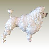 Lovely Vintage Show Cut Poodle Statue