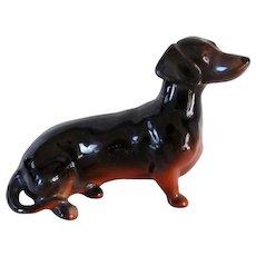 Vintage Beswick England Dachshund Dog