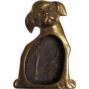 Vintage J.B. Pug Dog Stamp Moistener