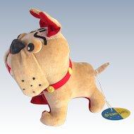 Vintage Toy Bulldog Dream Pets Tag Semper Fidelis