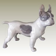 Royal Copenhagen French Bulldog/Boston Terrier No. 1457 Vintage