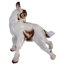 Gorgeous Rosenthal Porcelain Goat Vintage Signed