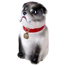 Unusual Cast Iron Bulldog Paperweight