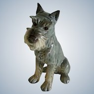 Goebel Schnauzer Dog W. Germany Vintage 4 1/2 Inches