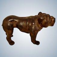"Heavy Metal English Bulldog Vintage ""PARSONS"" Dog"