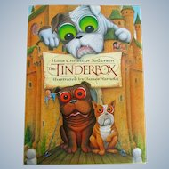 Vintage Tinderbox Story Book Illustrated With Bulldogs Dogs C.1991