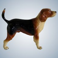 Vintage Oscar Mortens Beagle Hunting Dog