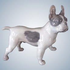 Royal Copenhagen French Bulldog/Boston Terrier Dog No. 1457 Vintage