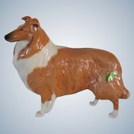 "Vintage Beswick Collie Dog Large ""Lochinvar Of Lady Park"" #1791"