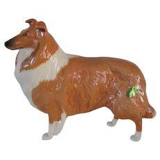 "Vintage Beswick Collie Dog Large ""Lochinvar Of Lady Park"" #1791"
