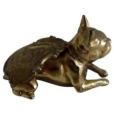 Virginia Souvenir French Bulldog/Boston Terrier Dog Vintage