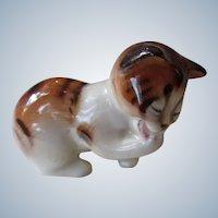 Vintage Royal Doulton Calico Cat Kitten HN2583