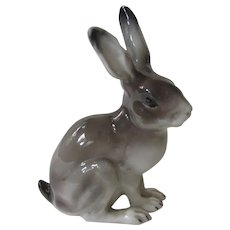 Rare Rosenthal Realistic Rabbit Or Hare Vintage